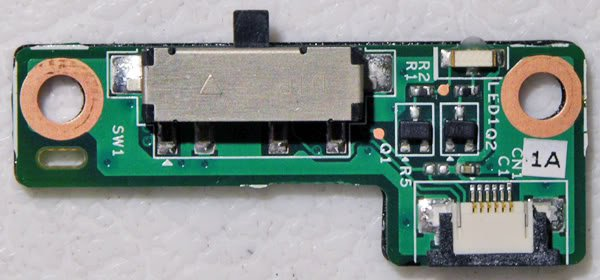 DELL 1525 1526 WIFI SWITCH SNIFFER BOARD 48.4W010.011
