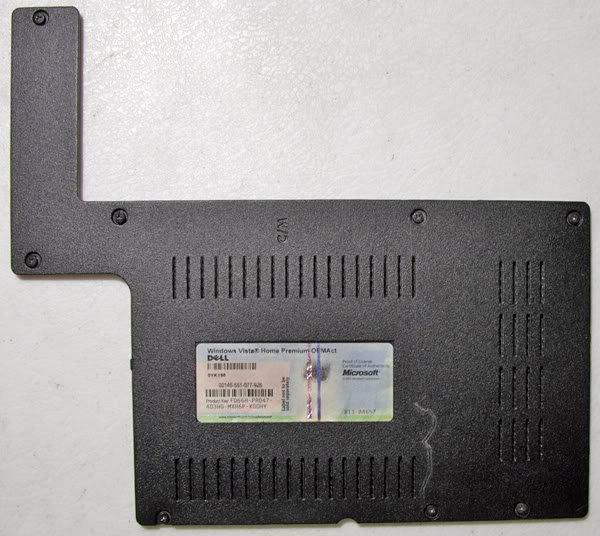 DELL 1525 1526 RAM MEMORY CPU FAN WIFI COVER GP262 COA