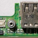 OEM DELL 1525 1526 DUEL USB POWER DC JACK 48.4W006.021