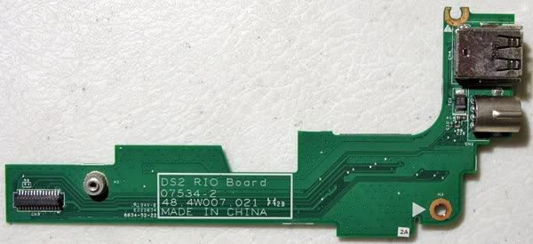 DELL 1525 1526 S VIDEO DUEL USB RIO BOARD 48.4W007.021