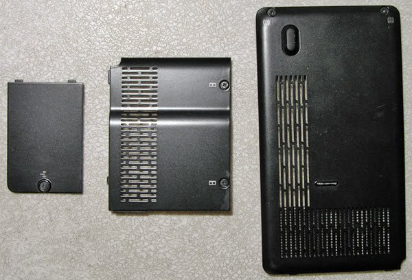 HP TX1000 TX1200 TX1300 RAM WIFI HD HARD DRIVE COVER