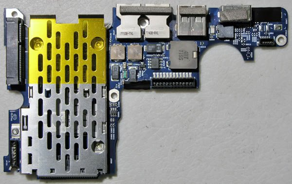 "MACBOOK PRO 15"" C2D USB AUDIO DC BOARD A1260 820-2273-A"