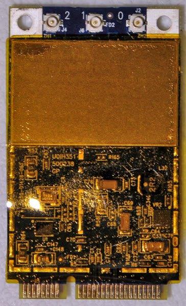 "MACBOOK PRO 15"" 17"" PCI WIFI CARD 607-0368-A AR5BXB72"