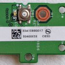 HP DV6000  POWER BUTTON BOARD 33AT3BB0017 / DAAT8ATH8B6