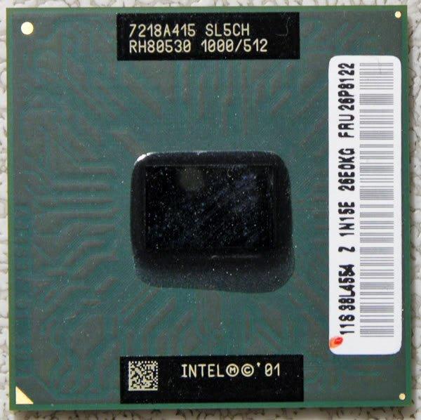 IBM T23 A30 INTEL PENTIUM III 3 M 1.0GHz SL5CH 26P8122