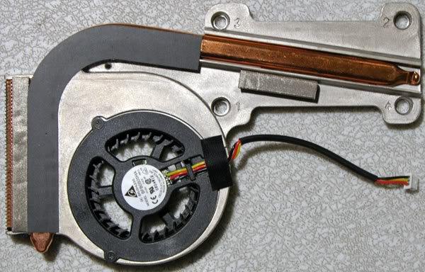 GATEWAY MX3231 MX3225 CPU HEATSINK & FAN B0185032G00020
