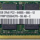 OEM HYNIX HP DV4 2GB RAM PC2-6400S 482169 HYMP125S64CP8