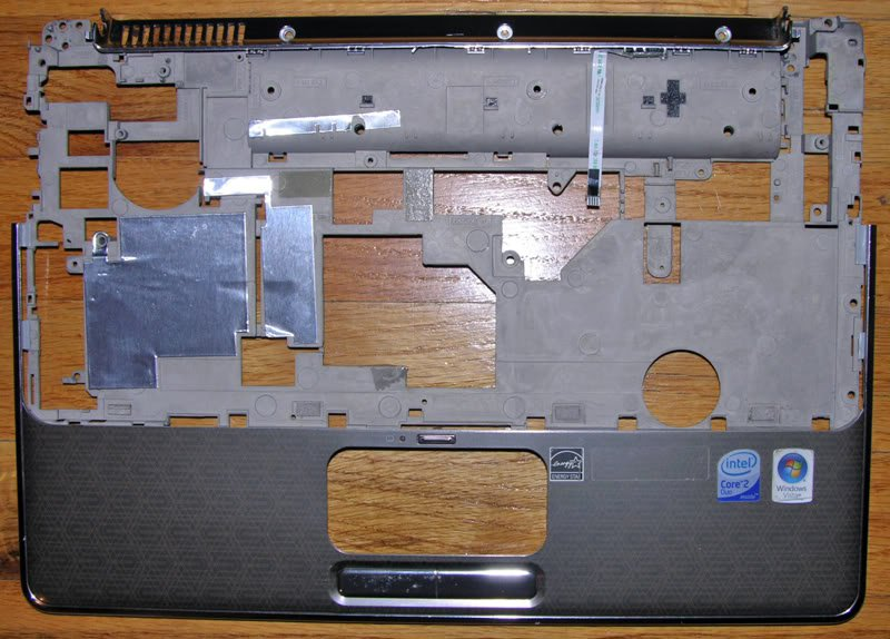 HP DV4 1220US GLOSSY BRONZE PALMREST 495662 AP03V002100
