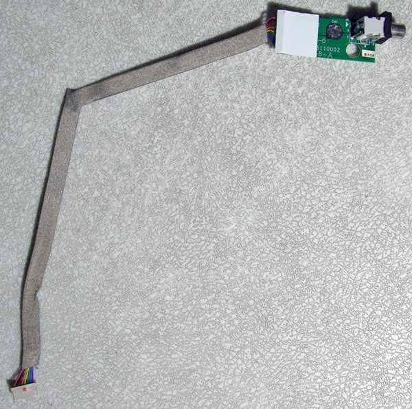 "APPLE iBOOK G3 14"" 600MHz ~ 900MHz DC POWER JACK BOARD"
