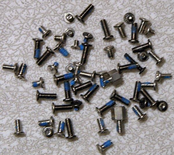 GATEWAY MA MA2 MX6124 MX6650 COMPLETE SCREW SCREWS SET