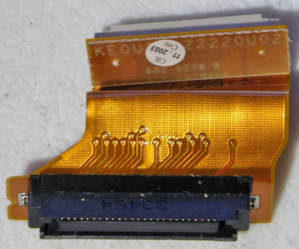"POWERBOOK G4 12"" 1GHz ~ 1.5GHz OPTICAL DRIVE FLEX CABLE"
