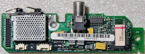 MAC POWERBOOK G3 PISMO AUDIO / DC JACK 820-1076-A M7572