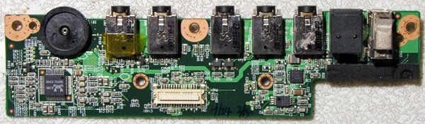 ALIENWARE M9700i M9700 M9750 AUDIO USB BOARD 40GAB0429
