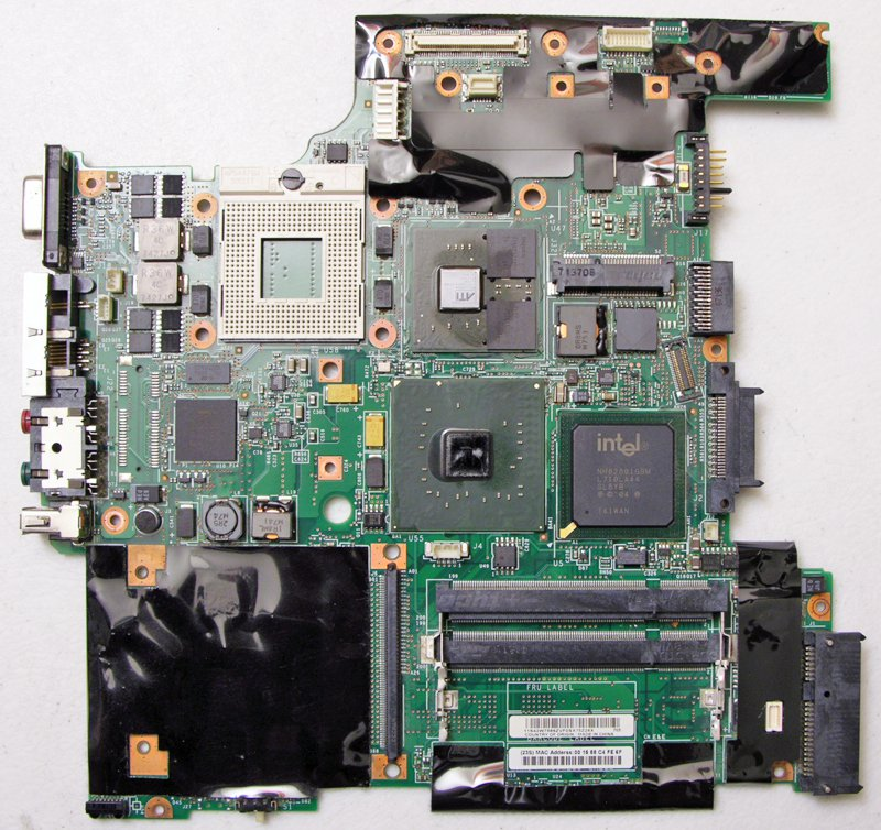 IBM LENOVO THINKPAD T60 MOTHERBOARD 42T0120 / P42W2222