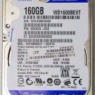 IBM LENOVO IDEAPAD WD SCORPIO BLUE SATA 160GB HD HARD DRIVE WD1600BEVT