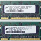"OEM MAC APPLE MACBOOK PRO 13"" 15"" 17"" 1GB (2x 512MB) RAM PC2-5300S MT8HTF646HDY"