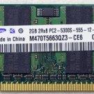 OEM HP DV6000 DV6500 DV6700 DV9000 2GB RAM PC2-5300S 457437 SAMSUNG M470T5663QZ3