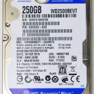 GENUINE OEM APPLE MACBOOK / PRO 250GB HD HARD DRIVE WD SCORPIO WD2500BEVT
