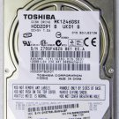 OEM TOSHIBA SATELLITE A215 A210 120GB 5400RPM HD HARD DRIVE MK1246GSX V000103060
