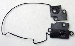 GENUINE OEM DELL INSPIRON 1564 LEFT & RIGHT SPEAKERS SET YYD8Y / 0YYD8Y