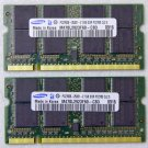 GENUINE OEM APPLE MAC POWERBOOK G4 A1106 2GB (1GBx2) PC2700S SODIMM RAM MEMORY