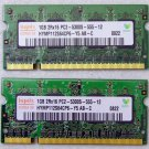 "GENUINE APPLE OEM MACBOOK PRO 13"" 15"" 17"" 2GB LAPTOP RAM PC2-5300S HYMP112S64CP6"