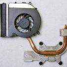 HP PAVILION DV7 SERIES CPU HEATSINK & FAN DC280004DD0 AT03X0010X0 480481 490503