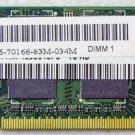 GENUINE DELL INSPIRON 1525 1526 2GB 2Rx8 PC2-5300S LAPTOP RAM Y9535 / 0Y9535