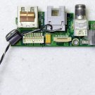 "OEM MAC APPLE POWERBOOK G4 17"" A1013 DC USB RJ11 POWER DC JACK BOARD 820-1388-A"