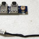 OEM HP PAVILION DV4 1000 DV4 2000 DV7 AUDIO BOARD LS-4081P 486840-001 w/CABLE