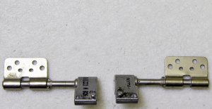 """GENUINE MAC APPLE OEM MACBOOK PRO A1211 A1260 15"""" LCD HINGES SET LEFT & RIGHT"""