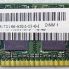 GENUINE DELL INSPIRON 1525 1526 2GB 2Rx8 PC2-5300S  LAPTOP RAM Y9535 / 0Y9535
