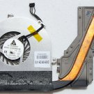 "OEM APPLE MACBOOK 13"" CORE 2 DUO CPU HEATSINK & COOLING FAN KSB0505HB 9109W7R"