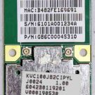 TOSHIBA SATELLITE L505 L505D A505 MINI HALF PCI WIFI WIRELESS CARD V000190530