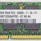 LENOVO 2GB DDR3 RAM MEMORY PC3-8500S HYNIX HMT125S6AFP8C 11S11010108ZZ0MP9741G0