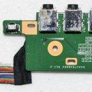 OEM HP HDX 16 X16 X16T AUDIO USB IR BOARD w/ CABLE DA0UT6AB8D0 DD0UT6AB200
