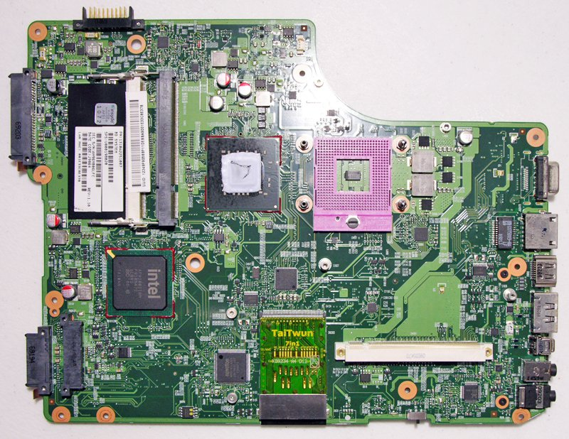 TOSHIBA SATELLITE A505 INTEL MOTHERBOARD HDMI V000198020 1397B0052809 *TESTED*