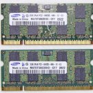 TOSHIBA SATELLITE A505 A505D 4GB (2X2GB) RAM PC3-6400S M470T5663EH3 V000170450