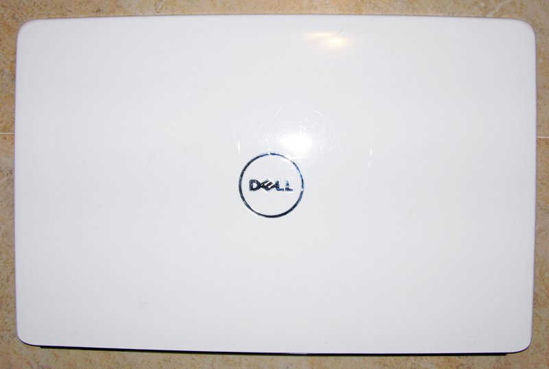 "DELL INSPIRON 1545 15.6"" WHITE LCD BACK COVER T233P 0T233P WIS 41.4AQ11.201"