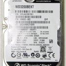OEM HP PAVILION DV4 WD 320GB 7200RPM HD HARD DRIVE WD3200BEKT 60V5T1 499053