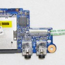 GENUINE OEM HP PROBOOK 4535S 4530S AUDIO SOUND JACKS & SD CARD READER BOARD