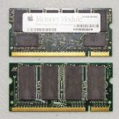 "GENUINE APPLE MAC POWERBOOK G4 12"" 15"" 17"" 1GB (2X512MB)  DDR PC2700 RAM MEMORY"