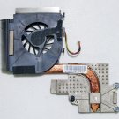 GENUINE OEM HP PAVILION DV5 DV5S SERIES CPU HEATSINK & COOLING FAN 584305-001
