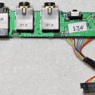 OEM HP PAVILION DV9000 DV9500 DV9700 AUDIO SOUND BOARD DA0AT9AB8C9 w/ CABLE