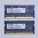 OEM SONY VIAO VPCEE42FX VPCEE 4GB LAPTOP RAM / MEMORY PC3-10600 EBJ21UE8BFU0