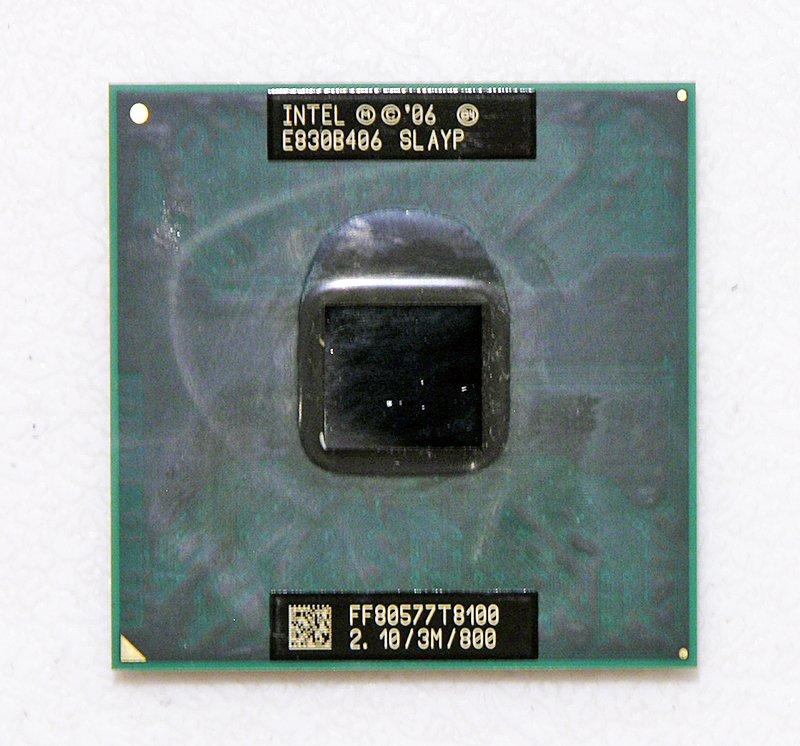 OEM DELL XPS M1530 INTEL CORE 2 DUO MOBILE T8200 2.1GHz CPU / PROCESSOR SLAYP