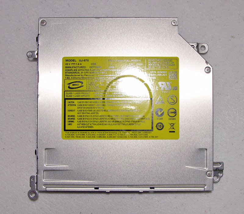 OEM DELL XPS M1530 DVD+/-RW IDE BURNER OPTICAL DRIVE 0M698C / M698C UJ-875