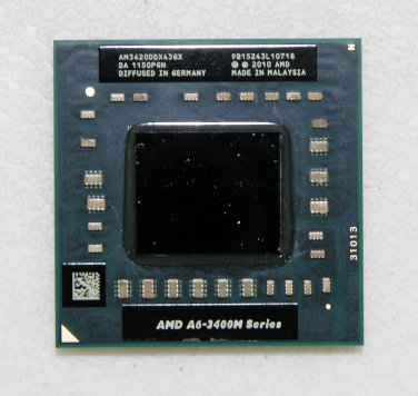 OEM TOSHIBA SATELLITE L775D L755 SERIES AMD A6-3420M 1.5GHz CPU AM3420DDX43GX