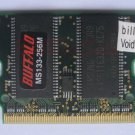 BUFFALO 256MB X1 MicroDIMM for ASUS S200a S200bm 144PIN PC133 US RAM 14