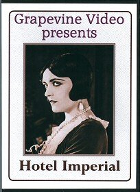 Hotel Imperial 1927 DVD